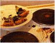 colour photo of half eaten pizza
