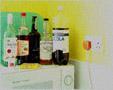 colour photo of drinks bottles