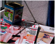 colour photo of girlie magazines