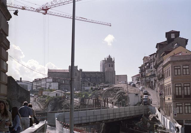 portugal oporto city photograph architecture buildings Europe young youth exchange visit holiday knowle west media project escola de bagium