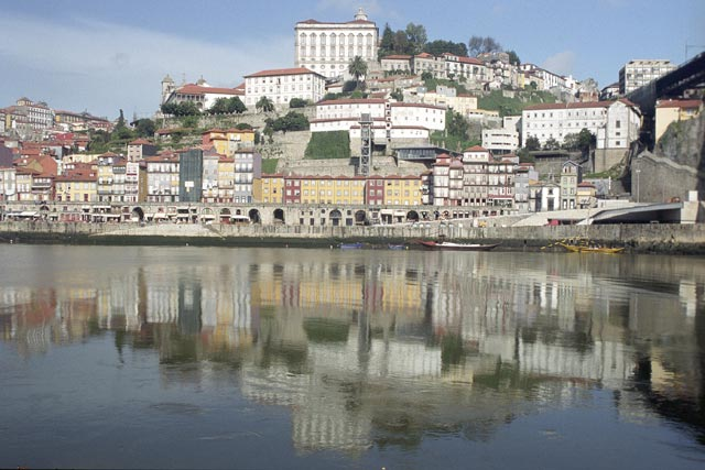 portugal oporto city photograph architecture buildings Europe young youth exchange visit holiday knowle west media project escola de bagium river douro