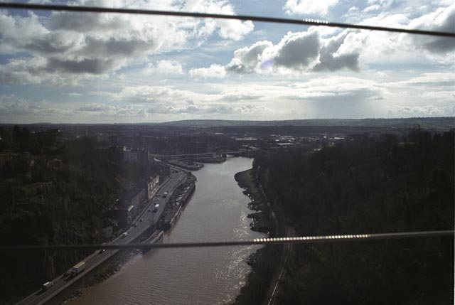 bristol UK Britain england south west pictures city photograph architecture buildings Europe young youth exchange visit holiday knowle west media project escola de bagium portuguese View from Clifton Suspension Bridge