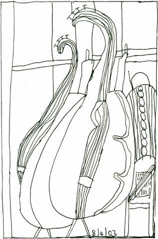musical instruments old art cello strings copy