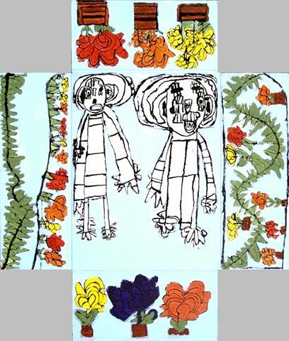 marriage wedding celebration love flowers leaves foliage