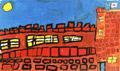 houses terrace street city castle st georges flag england english