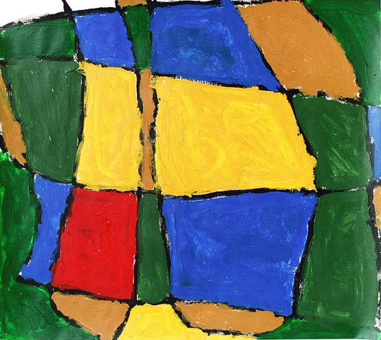 geometric coloured pattern abstract