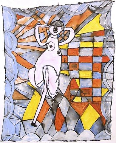 belly dancer exotic quilt dancing bed