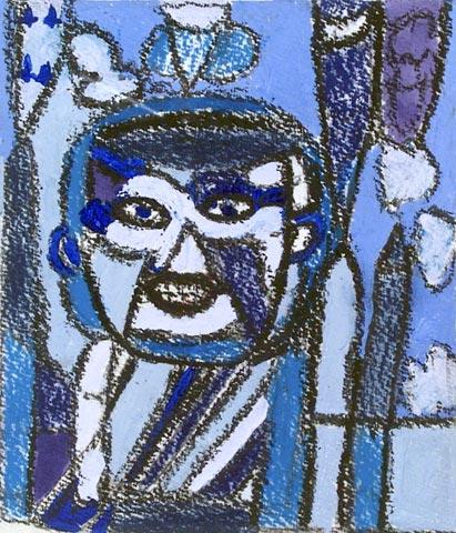 man blue portrait birthday george trmal