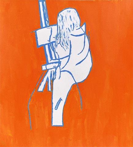 studio painter artist easel woman painting